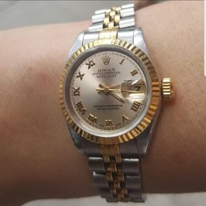 Rolex Oyster Perpetual Date Just Lady watch